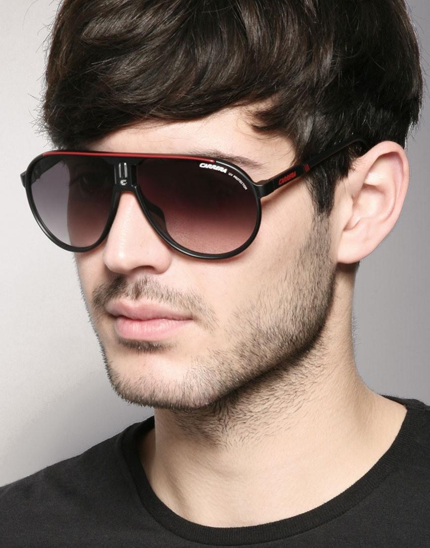 очки со сплошной верхней рамой внизу капли