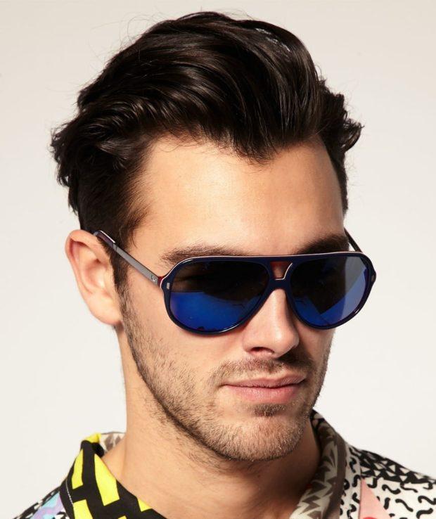 a0c057759ed7 Смотри! Солнцезащитные мужские очки 2018-2019 – тренды 90 фото