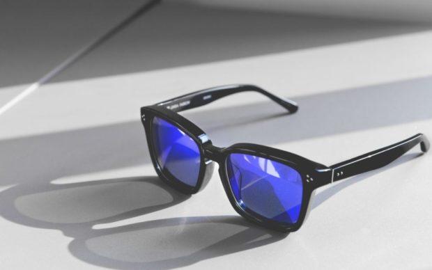 очки D-Frame  синие с черным