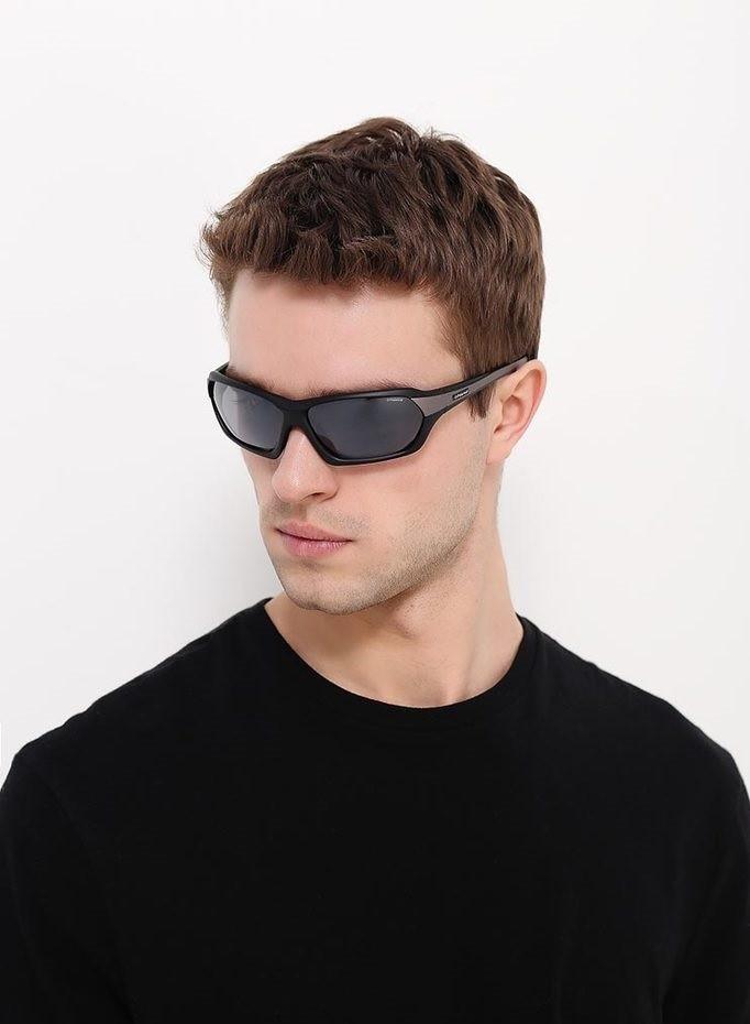 спортивные очки черные