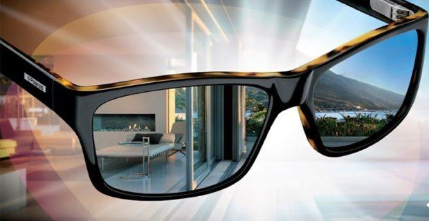 спортивные очки черные с цветной оправой