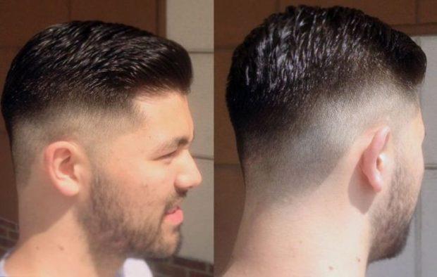 мужская стрижка 2019: сверху волосы по бока и снизу длинна 2 мм