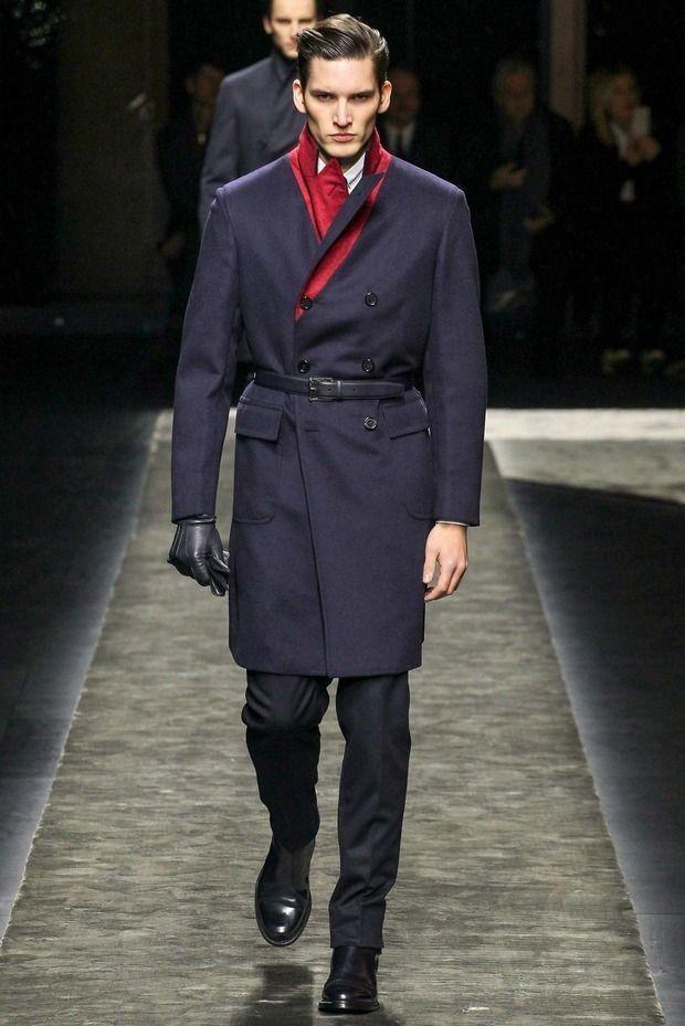 мужская мода осень-зима: милитари