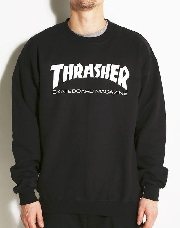 тенденции мужской моды осень-зима: свитшот черный с надписями