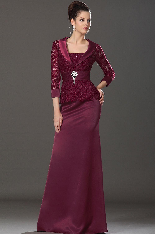 бордовое платье в пол строгое с поясом