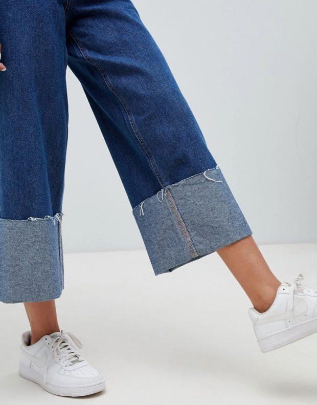 широкие джинсы 2018-2019