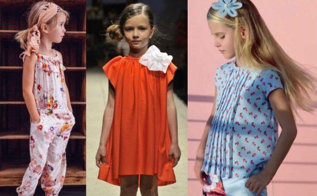 белый цветной комбинезон оранжевое платье трапеция блузка и юбка голубые
