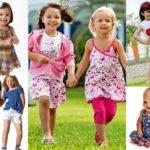 Детская мода лето 2018: для девочек — фото