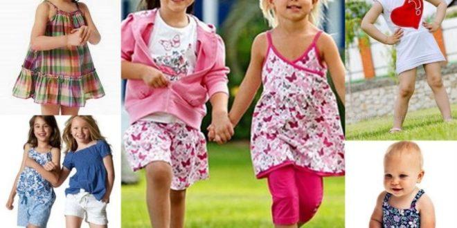 Детская мода лето 2019: для девочек — фото