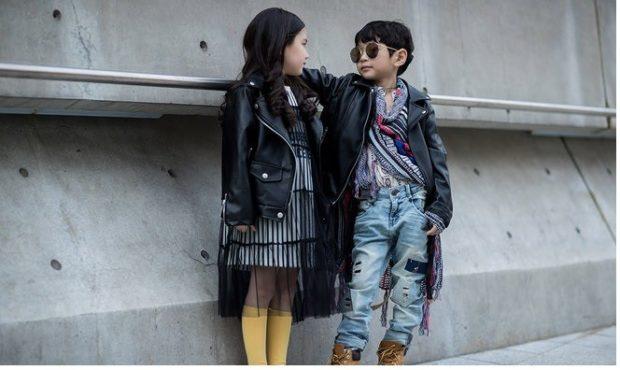 уличный стиль кожаные куртки платье с сеткой прозрачной джинсы и рубашка