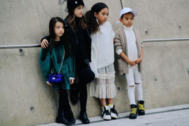 уличный стиль для детей оверсайз и кэжуал
