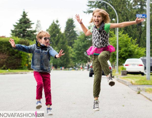 яркий уличный стиль для детей