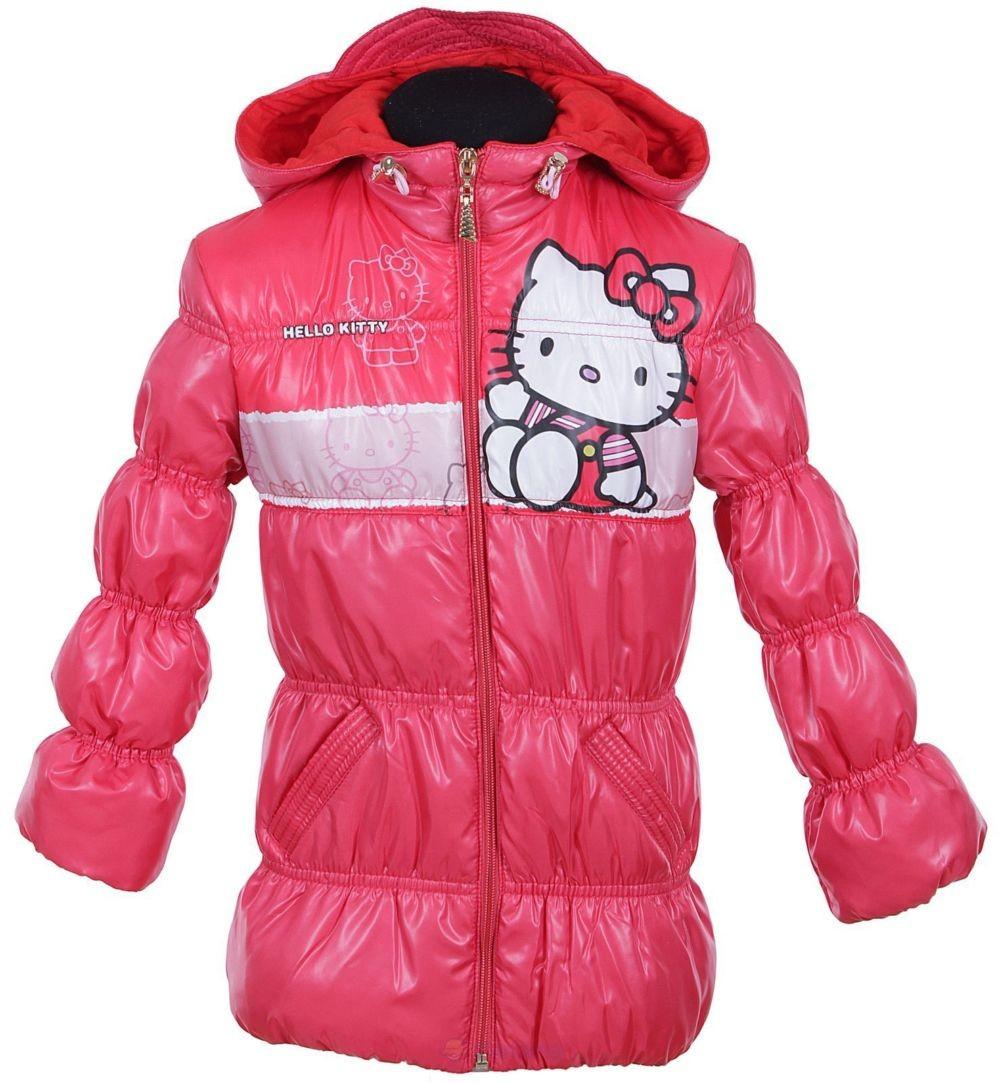 куртка розовая с кошечкой