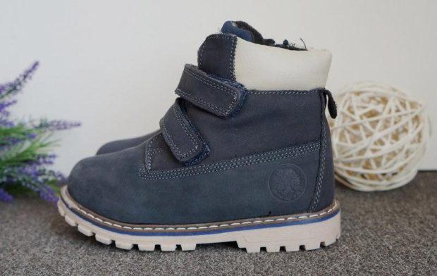 синие ботинки весна для мальчиков