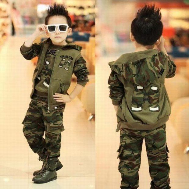 костюм для мальчика камуфляж