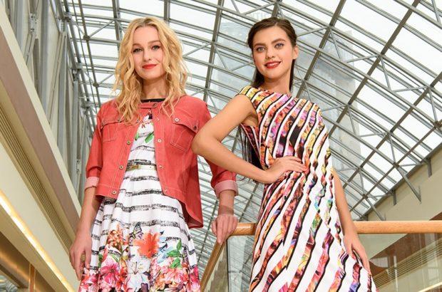 летние модные образы 2018: яркие летние платья