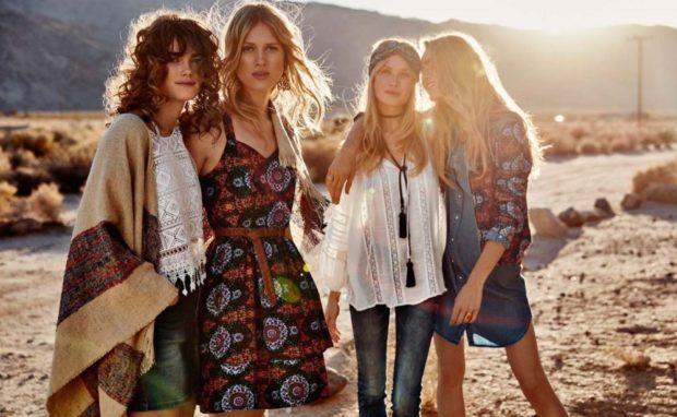 летние модные образы 2018: стиль зиппи платья джинсы и рубашки комбинезоны цветные блузки