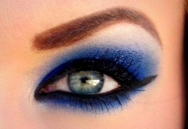 смоки айс синие с черным