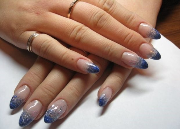 френч миллениум синий