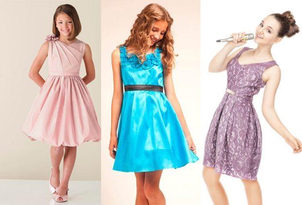 платья бежевое голубое фиолетовое легкие