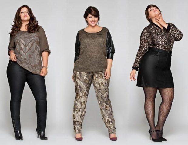 одежда для пышных форм брюки и кофта