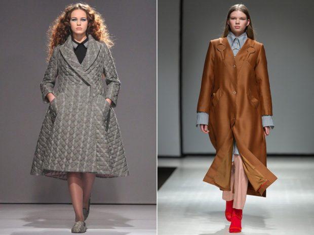 пальто для пышных форм