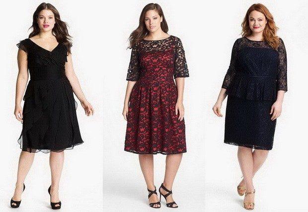 платье для пышных форм, черное, черное с красным. темно синие