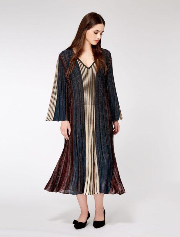 цветное платье разными цветами , коричневое,синие,бежевое