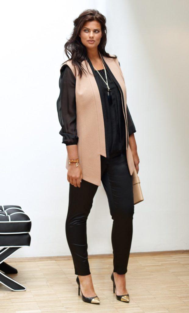 5fa6bffb8bc Смотри! Мода для полных женщин 2019-2020 года 110 фото новинки