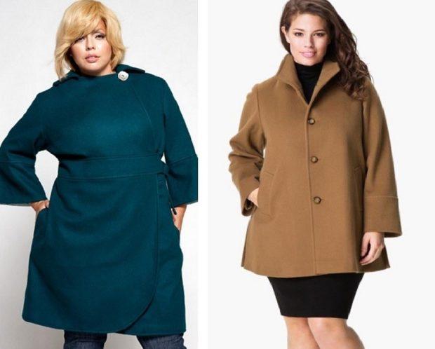 пальто с ремнем широким зеленое и бежевое
