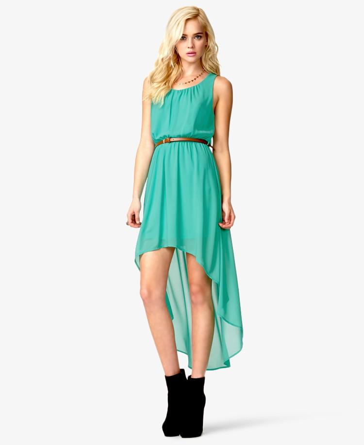 платье шифон со шлейфом без рукава