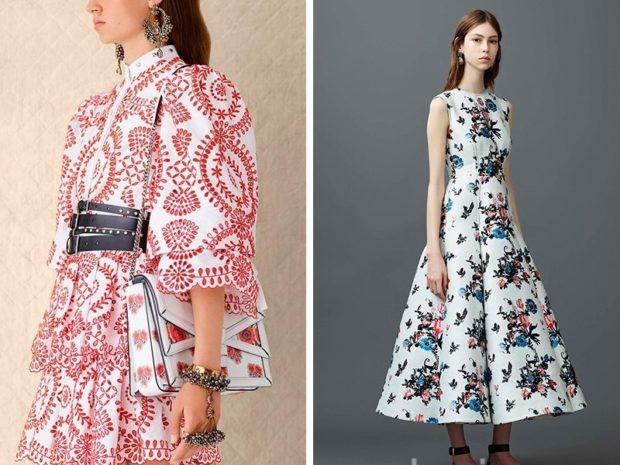 платье красно-белое рукав 3/4 платье миди а-силует без рукава