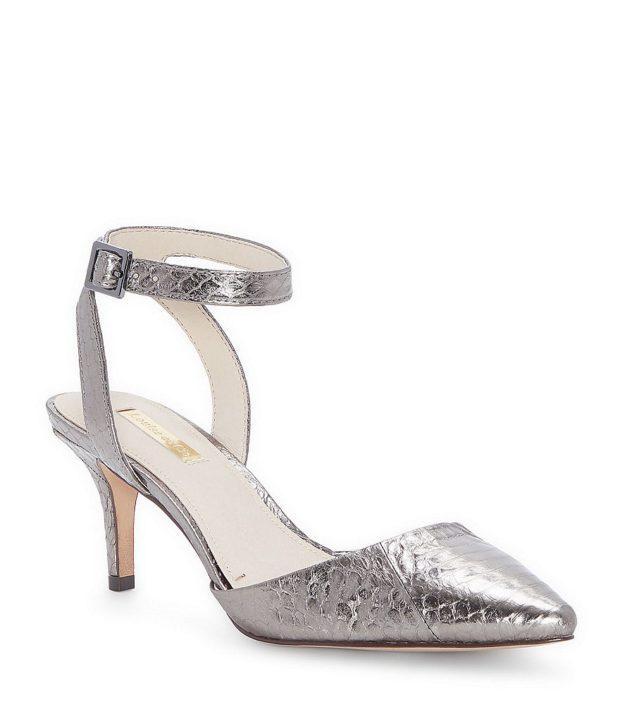 модная обувь на новый год: серебро