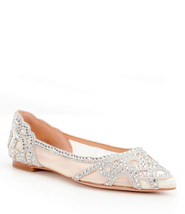 модная обувь на Новый Год: с камнями без каблука