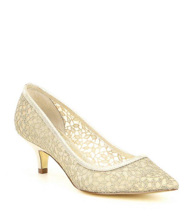 модная обувь на новый год: низкий каблук