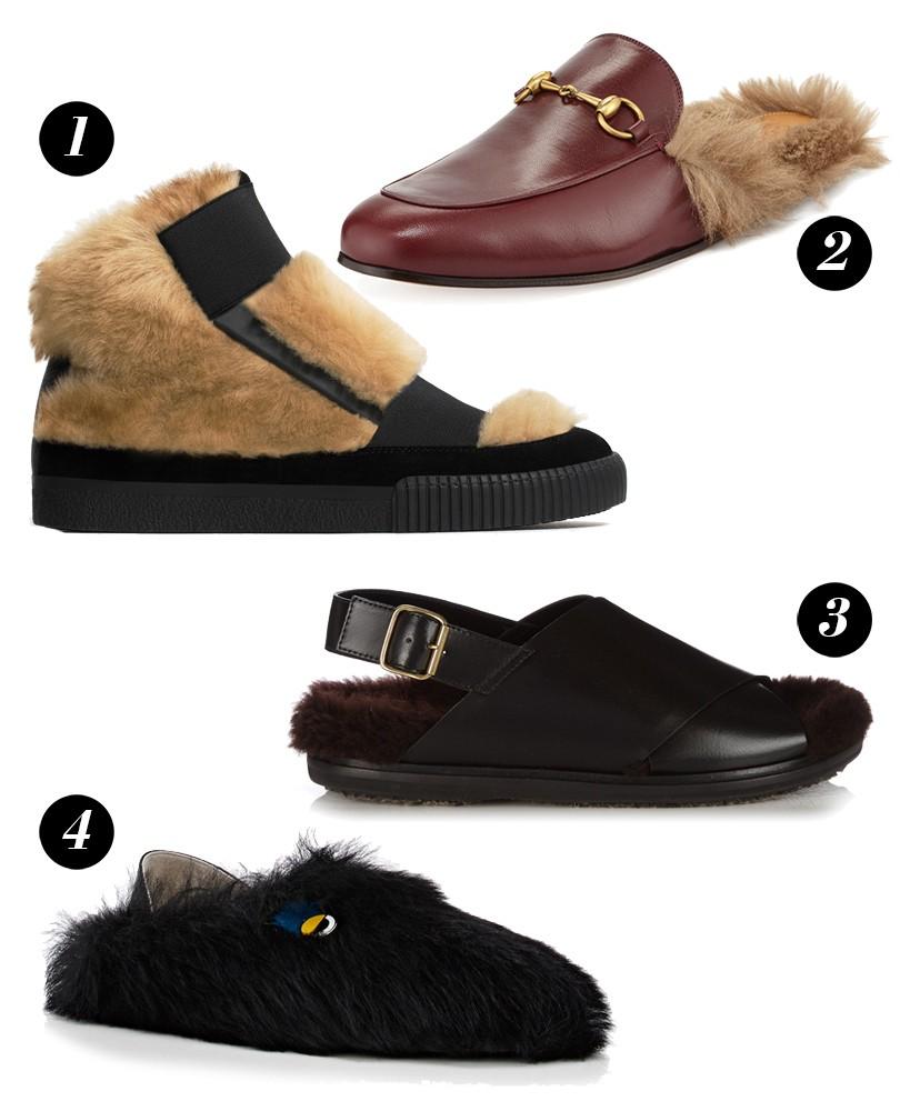 оригинальные мужские туфли, ботинки, босоножки замшевые с мехом