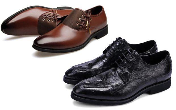 туфли классические коричневые черные