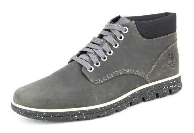 замшевые ботинки металлика серая