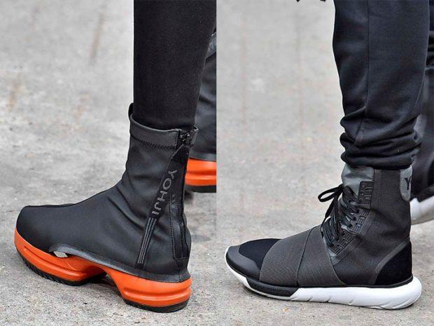 ботинки оригинальные на высокой подошве