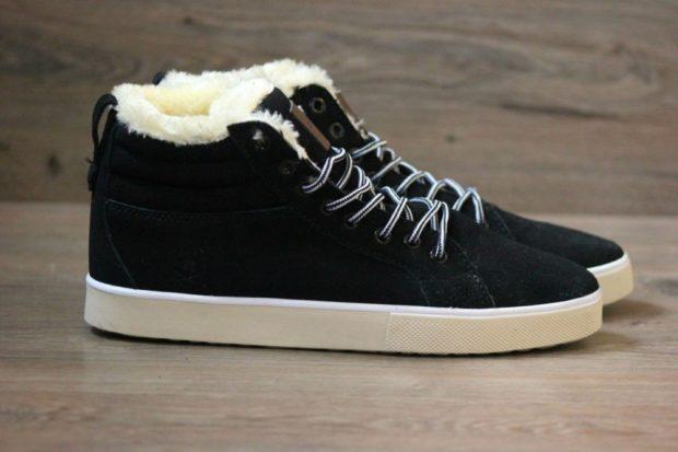 кроссовки теплые с мехом