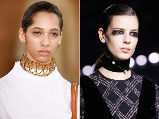модные женские аксессуары: объемные украшения на шею