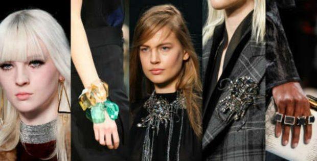 модные аксессуары: сережки треугольник браслет объемный из камня украшение на шею