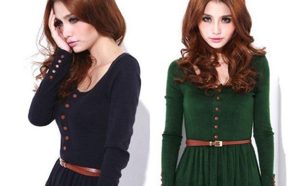 модные женские аксессуары: ремень кожаный коричневый тонкий
