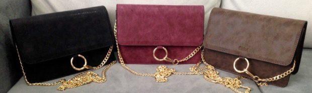 сумки-клатчи черная бордовая коричневая