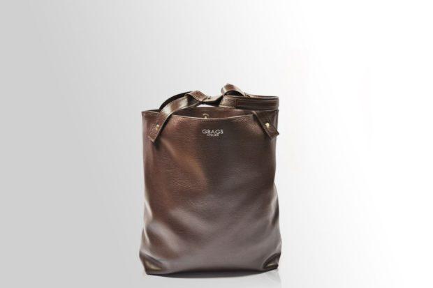 коричневая сумка классическая