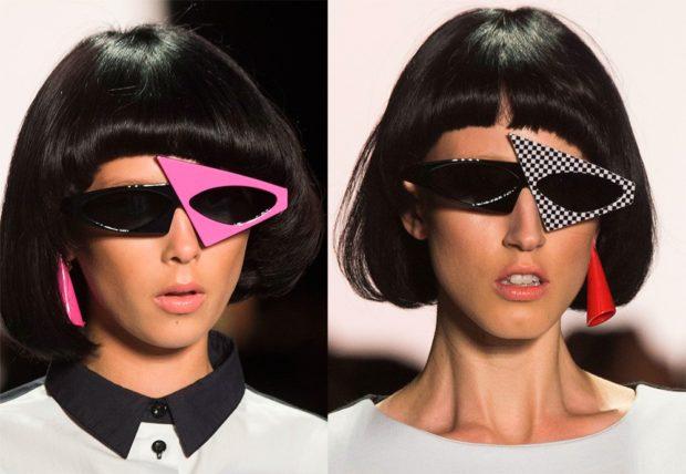 очки от солнца оригинальной формы