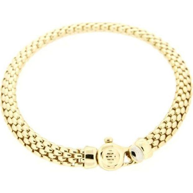 женские браслеты: золотой оригинальное плетение