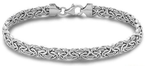 женские браслеты: из платины оригинальное плетение