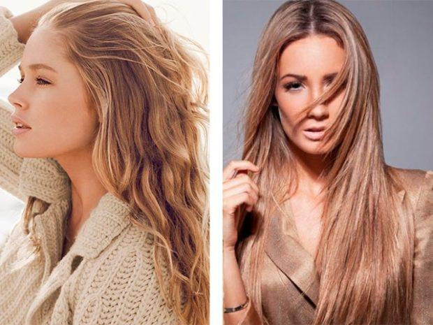 модные цвета волос: золотой блонд