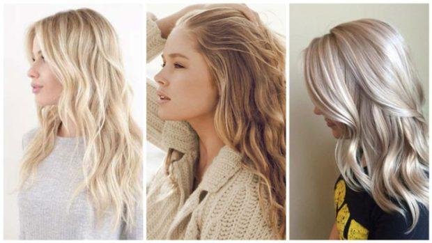 натуральный блонд золотой платиновый